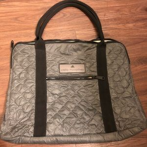 Stella McCartney x Adidas Quilted Gym Bag / Purse